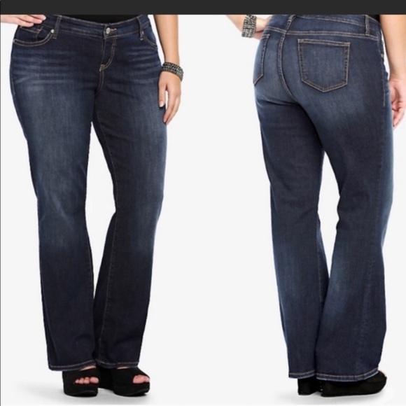 Torrid Relaxed Bootcut Dark Wash Jeans Sz 20